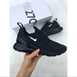 ⚡️Custom Nike Air Max 270 Shoes (All Black)⚡️